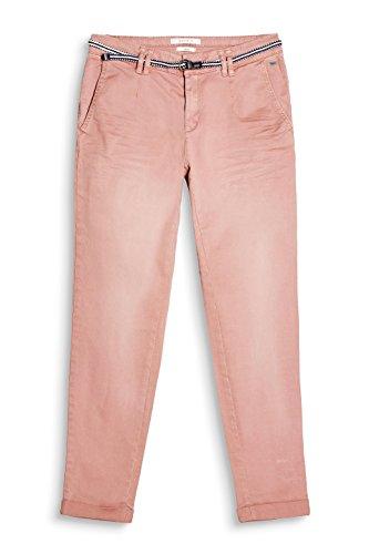 Esprit, Pantalon Femme Rose (Dark Old Pink 675)