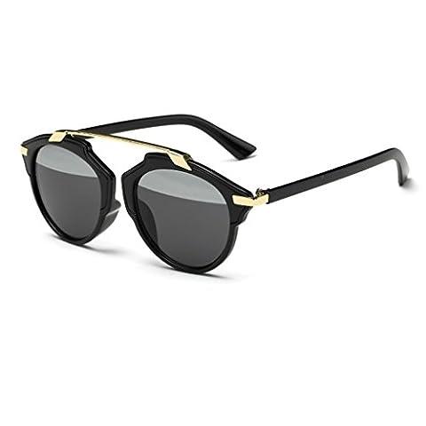 QHGstore Frauen Männer Vintage Sonnenbrillen Outdoor Brillen Brillen Kunststoff Rahmen #3