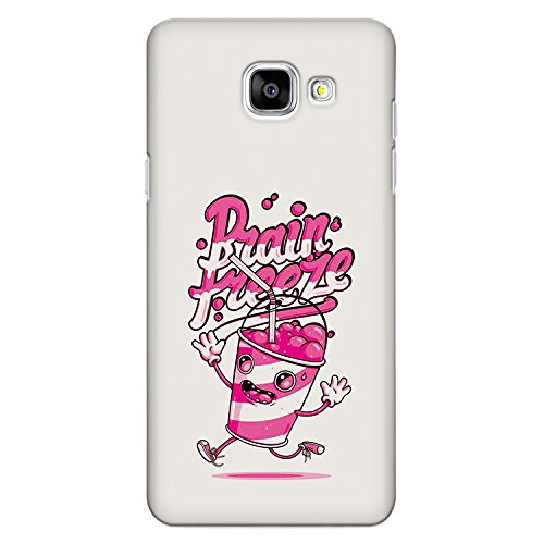 CrazyInk Premium 3D Back Cover for Samsung A5 2016 - Brain Freeze