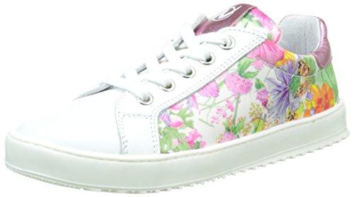 Naturino - 4078, Sneaker Bambina Bianco (bianco)