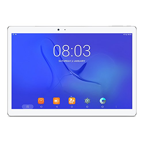 Teclast T10 MTK8176 Hexa Ядро 1.7GHz 10.1 «OGS Sharp Дисплей IPS 2560 * 1600, Android 7.0 OS, 4GB RAM 64GB ROM, 13MP + 8MP Двойная камера, HDMI Поддержка Dual WiFi Fingerprint ID Tablet PC G-сенсор, Bluetooth 4.0, батареи 8100mAh, белый