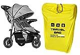Reisetasche für Kinderwagen Größe zu 100x60x40 cm Transporttasche Buggy Tragetasche Faltbar als...
