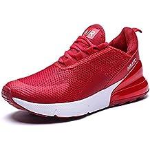 new concept 00f93 a2b58 GNEDIAE Homme AIR 27C Bas-Top Chaussures de Course Baskets pour Marche Sport  Athlétique Fitness