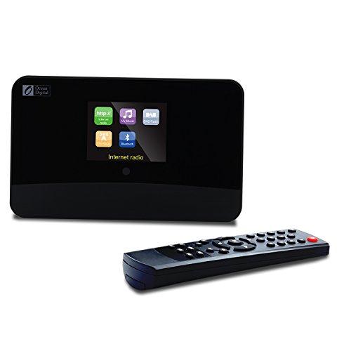 Ocean Digital DBA-03R Internet / DAB / DAB + / FM Radio Bluetooth adattatore colore WiFi WLAN Wireless Media Player di musica del display-Black