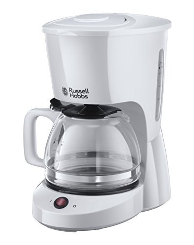 Russell Hobbs 22610-56 Independiente Manual - Cafetera (Independiente, Cafetera de filtro, 1,25 L, De café molido, Blanco)