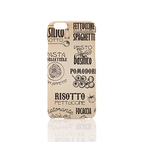 Aiino City Collection NY Schutzhülle für iPhone 6/6S Food