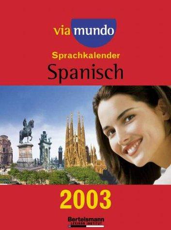 Kalender, Via mundo Sprachkalender Spanisch. (Abreißkalender)