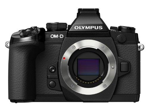 Olympus E-M1 OM-D Systemkamera (16 Megapixel, 7,6 cm (3 Zoll) TFT LCD-Display, True Pic VII Prozessor, Full-HD, HDR, 5-Achsen Bildstabilisator) nur Gehäuse schwarz True Hd-lcd-display
