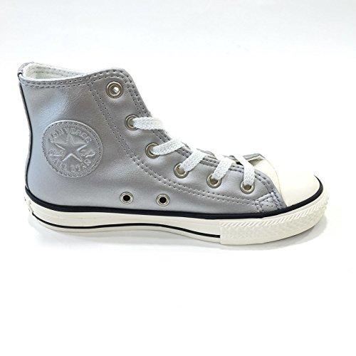 Converse All Star Hi Metal - 655127c - Silver