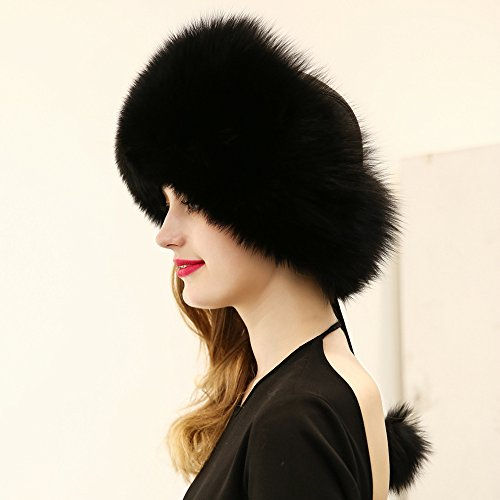 Fan7laidi Hat for Women Winter Warm Hat Russian Style Multi-Colour