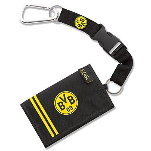 Borussia Dortmund Portemonnaie / Geldbörse mit Karabiner BVB 09
