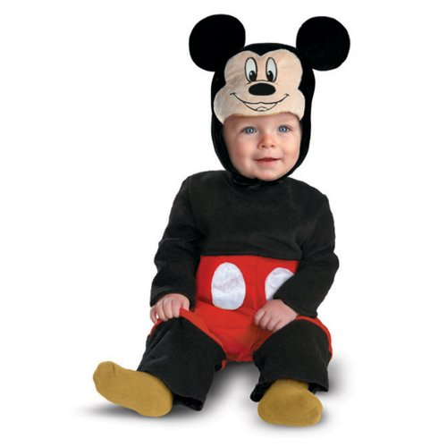 Disguise Disney Mickey Mouse Kleinkind Kost-m 6 - 12 Monate