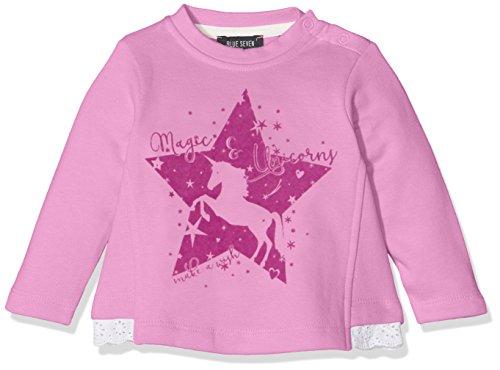 Blue Seven Baby-Mädchen Sweatshirt 957009 X, Violett (Flieder 446), 68