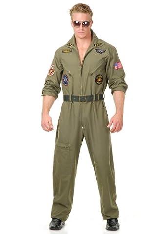 Charades Jungen Plus Größe Air Force Pilot Kostüm (Charades Halloween Kostüme)