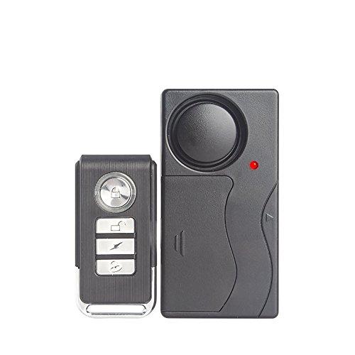 /4/sensores magn/ético y 4/DE Alarma Seguridad Prevenci/ón antirrobos de Puertas y Ventanas Alarma TFA de S8/95/dB/ /Juego DE 4/