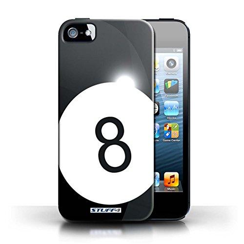 Kobalt® Imprimé Etui / Coque pour Apple iPhone 5/5S / Basket-ball conception / Série Balle Sportif Billard/Pool