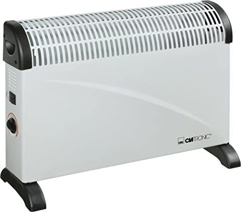 Convecteur Electrique Mural - Clatronic Kh 3077 Radiateur électrique 3 Niveaux