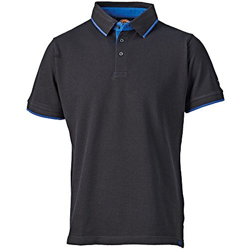 Dickies Anvil Polo Shirt schwarz BK-L, DT2000