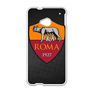 Hpif HTC One M7 Cell Phone Case White As Roma Logo