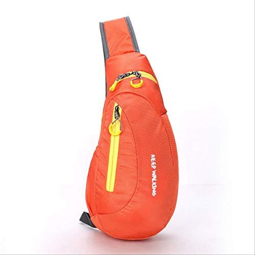 Rucksack WEN FENG Wandern Sport Brusttasche Wasserdicht Outdoor Klettern Rucksack Paket Brusttasche Für Frauen Schulter Rucksack Radfahren Sporttasche 20x11x41 cm O (Mochila Puma)