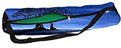 Latest Poly Canvas Yoga Mat Bag / Cover. Easy Fit up to 4 mm thick yoga Mat. Print Design : Evening Monk's Yoga - a spiritual teacher ( Acarya )Buy with confidence it comes Direct from Factory No Middle Men in between  Enjoy the Power of B2C ecommerc...