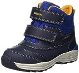 Geox Baby Jungen B New Gulp Boy B ABX B Stiefel, Blau (Dk Navy/Royal C4184), 24 EU