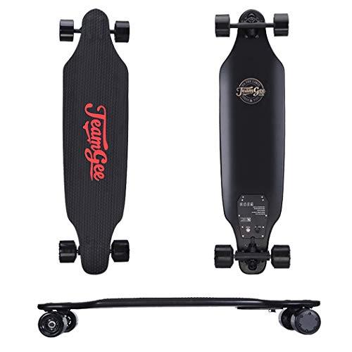 SSCJ Langes Brett-elektrisches Kreuzer-Skateboard 900w Doppelmotor-Höchstgeschwindigkeit 35km / h maximale Reichweite 18km mit Fernsteuerungsfachmann-Sport-elektrischem Skateboard
