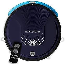 Rowenta, Aspirateur Robot, Laveur, Autonomie 2h30, Sols Durs, Tapis, Poils d'Animaux, Explorer Serie 20 RR6871WH