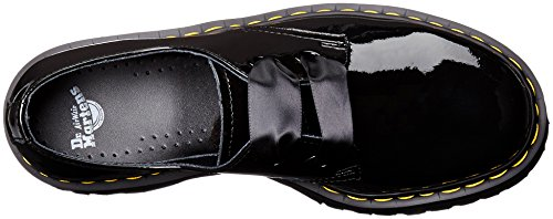Dr.Martens Womens Holly Patent Lamber Patent Leather Shoes Schwarz