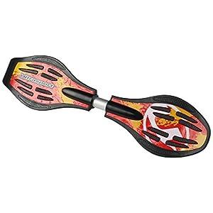 Ultrasport Waveboard, sehr leicht und wendig in coolem Design mit leuchtenden...