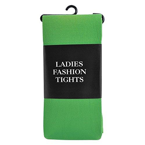 Ladies Nylon Tights Green accesorio de disfraz