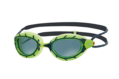 Zoggs Predator Smoke Polarized Schwimmbrille, Green/Black, One Size