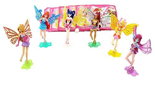 Winx Club Figuren 2008 mit allen Beipackzetteln (Komplettsatz Ausland) (Winx Club Figuren)