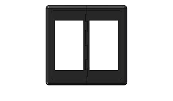 End Sections Rocker Switch Mount Bracket Holder FOR CARLING ARB Style SWITCHES