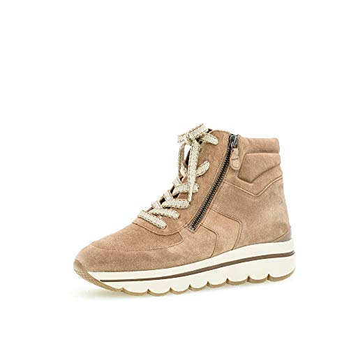 Gabor Donna Stivaletti 33.700, Signora Stivali,Chukka Boot,Desert Boot,Half Boots,tivali,Stivaletti Stringate,con Cerniera,Desert,41 EU / 7.5 UK