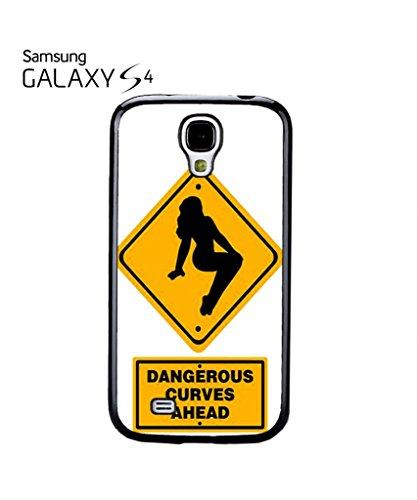 Dangerous Curves Ahead Mobile Cell Phone Case Samsung Note 2 Black Noir