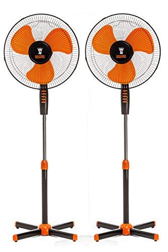 Standventilator 40 Watt Ventilator Klima Lüfter Klimagerät Windmaschine NEU (2 Stk,)