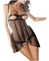 Damen Sexy Spitze durchsichtig Reizwäsche Nachtkleid Bademantel Perspektive Teddy Reizwäsche Reizvolle Frauen Lingerie Dessous Reizvolle Lingerie