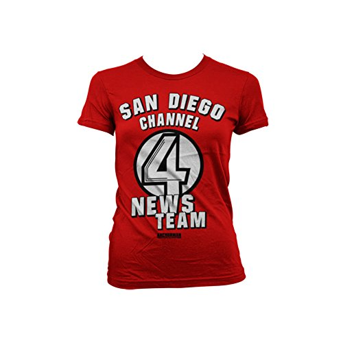 officially-licensed-merchandise-san-diego-channel-4-girly-t-shirt-red-xx-large