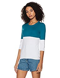 United Colors of Benetton Womens Cotton Pullover (17A1CN1E9003I901XS_Multi-coloured)