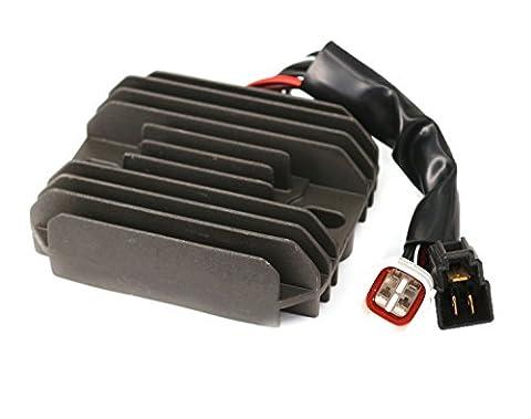 régulateur Redresseur de tension pour moto en aluminium pour SFV6502009–2011GSF12502007–2010Bike (levier) 2004–2012