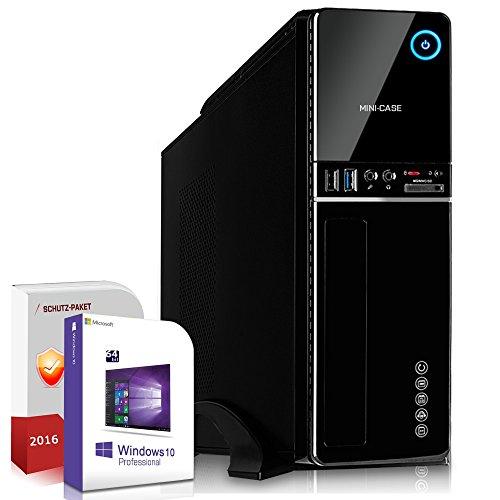 Win 10 Komplett Computer System AMD FX-8370E 16 GB 1 TB 120GB SSD HD 3000 1GB PC