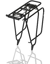 XLC Gepäckträger carry more schwarz, Fatbike, mit Packtaschenbügel (1 Stück)