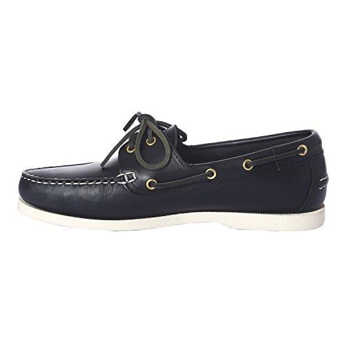 Slam Shoe Prince Evo Scarpa da Barca in Cuoio Suola Antiscivolo (43)
