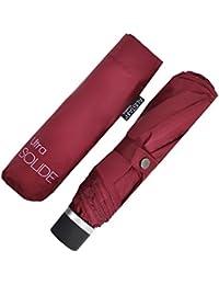 Alistair Umbrella - Compact - Ultra Resistente - Apertura / Cierre Manual - Frambuesa