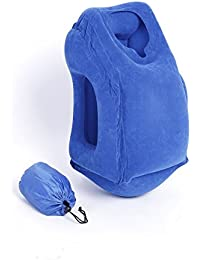 Inflatable Travel Pillow - Almohada De Viaje Inflable,Cojin Relajante Smart Travel Pillow Alta Calidad
