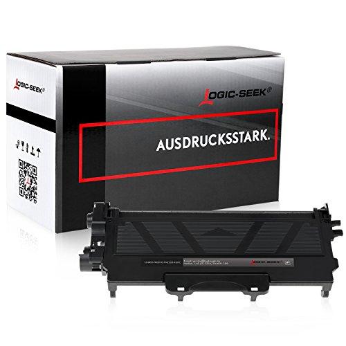 Logic-Seek XXL Toner kompatibel zu Brother TN-2010 TN-2220 für Brother HL-2130 MFC-7360N HL-2135W - Schwarz 10.400 Seiten