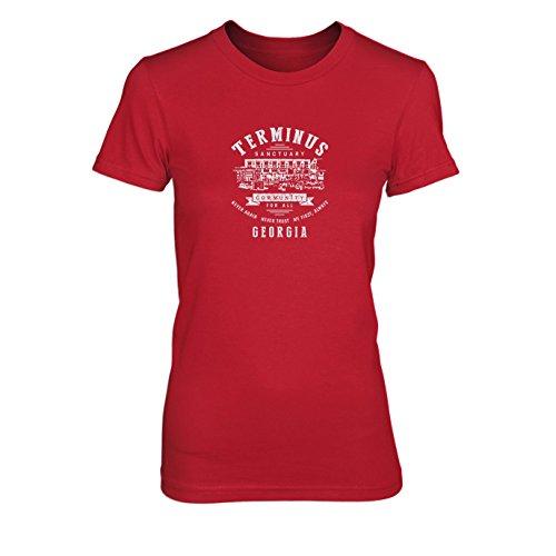Terminus Sanctuary - Damen T-Shirt, Größe: L, Farbe: ()