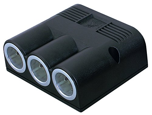 Preisvergleich Produktbild ProCar 67601000 Kfz-Dreifachsteckdose 12-24 V/Maximum 20 A