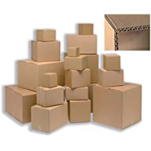 Ambassador Packing Carton Double Wall Strong Flat-packed 457x457x457mm Ref SC-63 [Pack of 15]